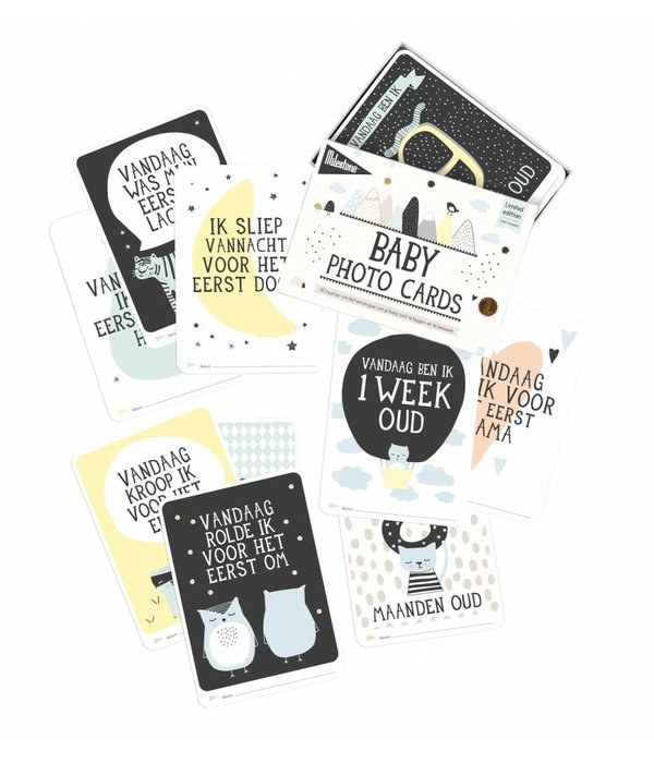 Milestone™ MILESTONE™ - Baby photo cards Over the Moon