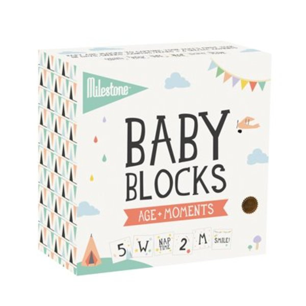 MILESTONE™ - Baby Photo Blocks