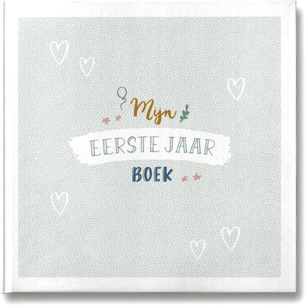 MAAN AMSTERDAM - Mijn eerste jaar babyboek Mint