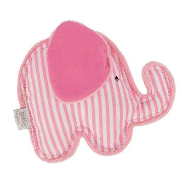 GOKI - Rammelaar Olifant Roze
