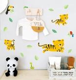 Little Lovely Company A LITTLE LOVELY COMPANY - Muursticker Jungle Tijger