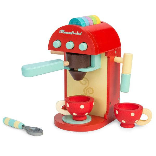 LE TOY VAN - Koffiemachine van hout