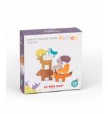 Le Toy Van LE TOY VAN - Stapeldieren Bos speelgoed in tasje