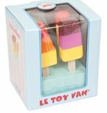 Le Toy Van LE TOY VAN - Houten ijsjes set 7-delig