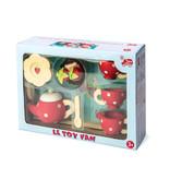 Le Toy Van LE TOY VAN - Houten thee servies 12-delig