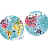 Janod Janod - Puzzelkoffer wereld