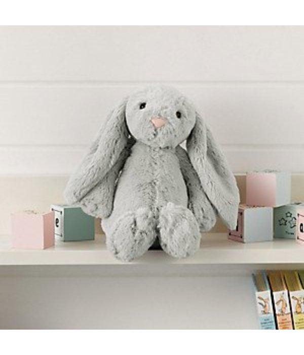 Jellycat Jellycat - Bashful Bunny konijn grijs - medium - 31 CM