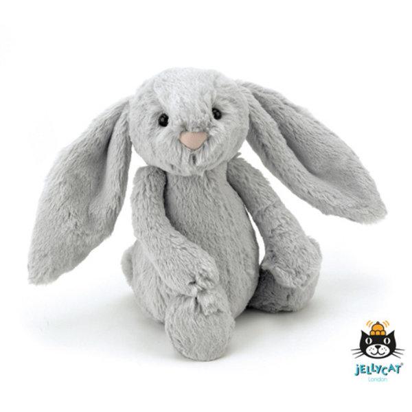 Jellycat - Bashful Bunny konijn grijs - medium