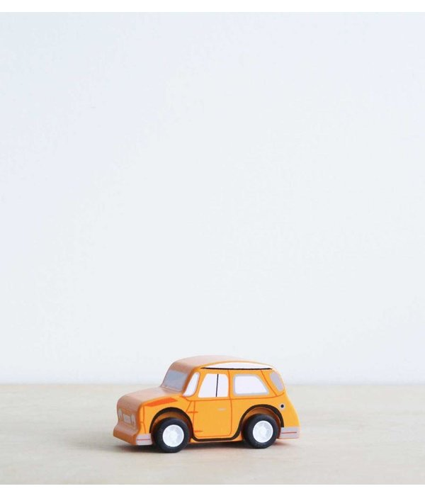Le Toy Van LE TOY VAN - Houten race auto oranje