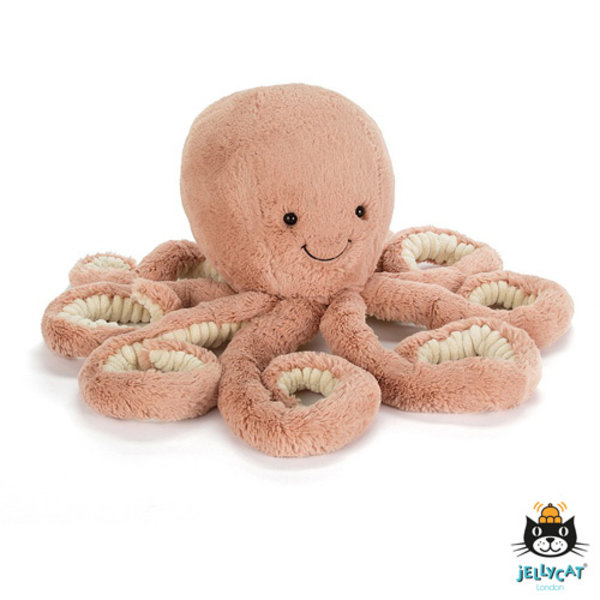 Jellycat - Knuffel Odell Octopus - small