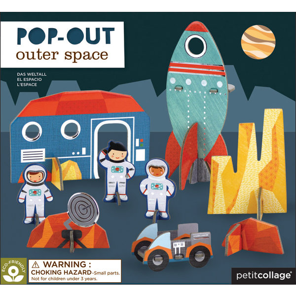 PETITCOLLAGE - Pop-out 3D puzzel Ruimte