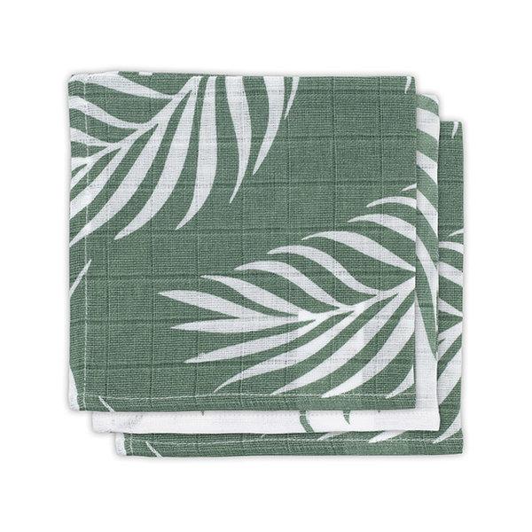 JOLLEIN - Monddoekje hydrofiel Nature Green 3 pack