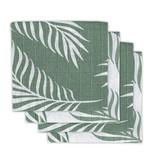 Jollein JOLLEIN - Hydrofiele doeken 4 pack 70x70 Nature Green