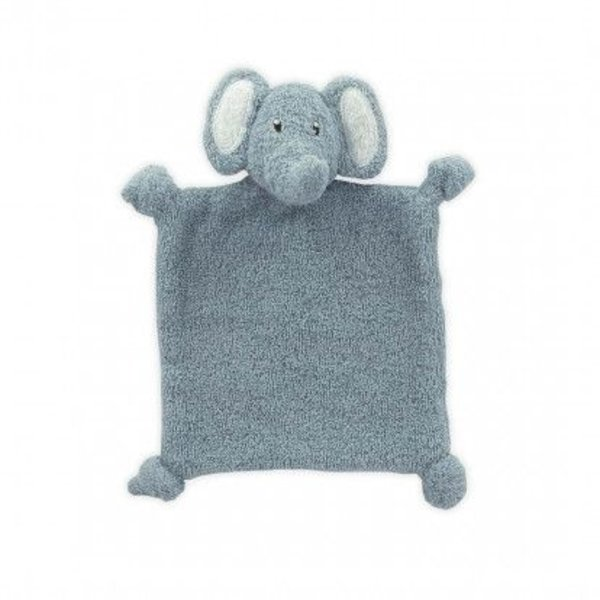 Little Lemonade - Knuffeldoekje Olifant Dusty Blue