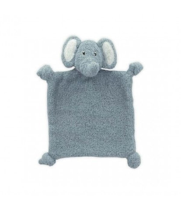 Little Lemonade Little Lemonade - Knuffeldoekje Olifant Dusty Blue