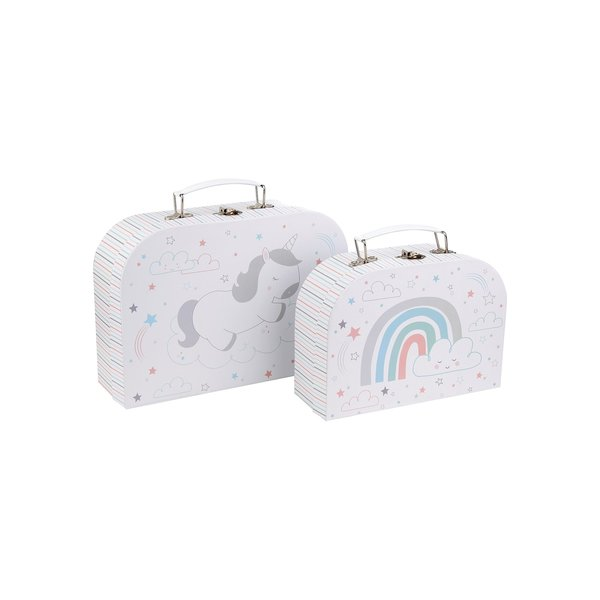 SASS & BELLE - Koffer set Baby Unicorn