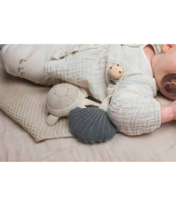 Baby Bello Baby Bello -Tilly the Turtle kinderwagen speeltje Blauw