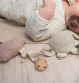 Baby Bello Baby Bello -Tilly the Turtle kinderwagen speeltje Roze
