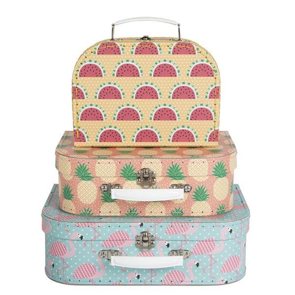 SASS & BELLE - Koffer set Tropical 3 stuks