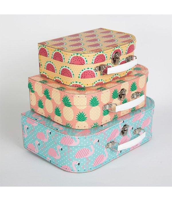 Sass & Belle SASS & BELLE - Koffer set Tropical 3 stuks