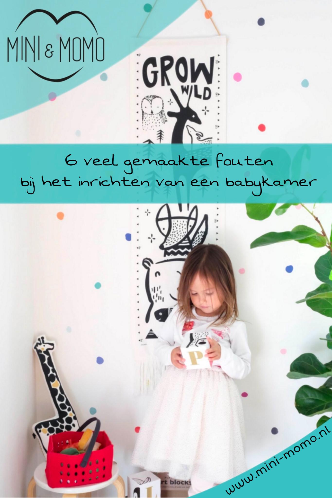 6 veel gemaakte fouten bij het inrichten van een babykamer