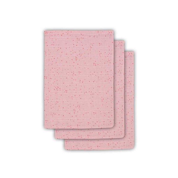 JOLLEIN - Hydrofiele washandjes 3 pack Blush Pink