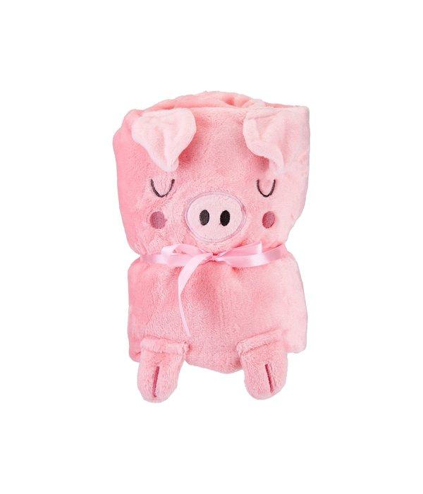 Sass & Belle Sass & Belle - Deken Oink the Piglet Varkentje