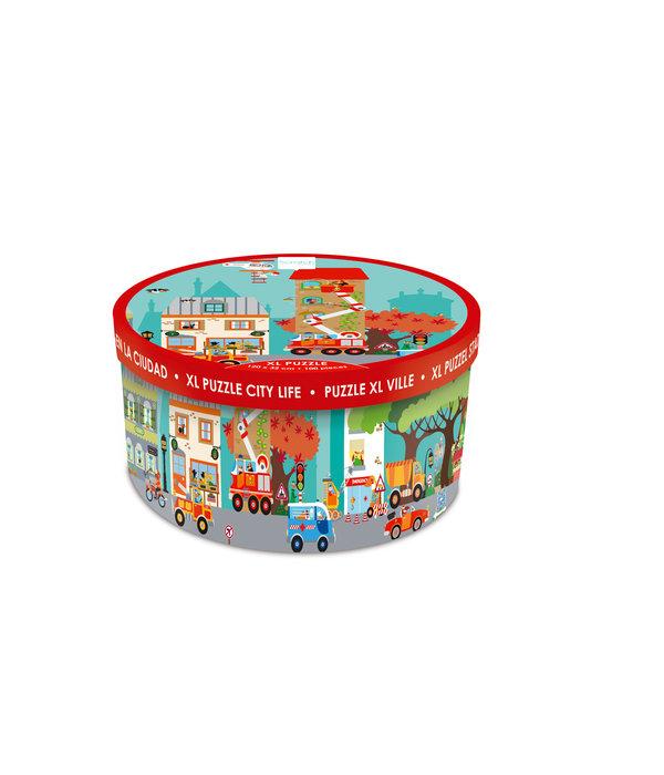 Scratch Scratch - Vloerpuzzel Stad