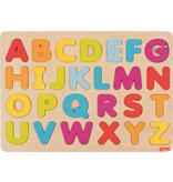 Goki Goki - Houten puzzel Alfabet
