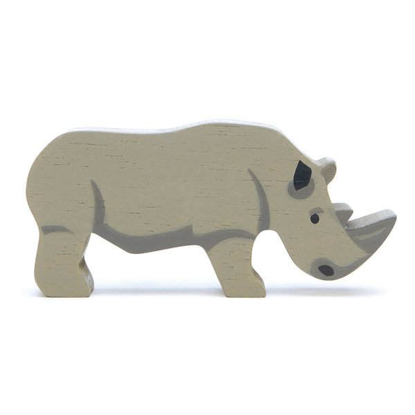 Tender Leaf - Houten dieren - Neushoorn