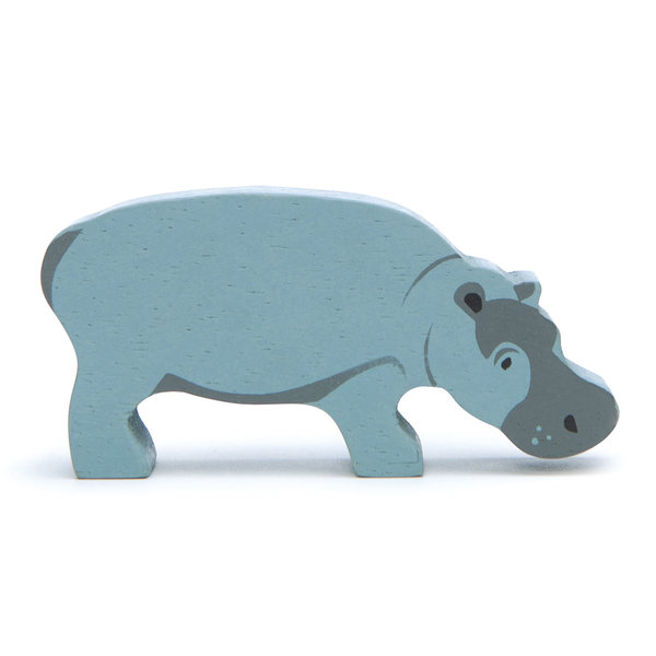 Tender Leaf - Houten dieren - Nijlpaard