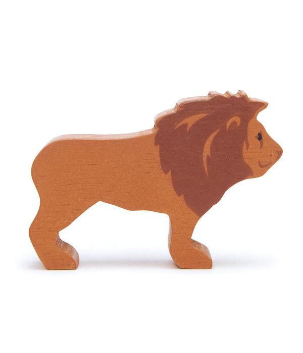 Tender leaf Toys Tender Leaf - Houten dieren - Leeuw