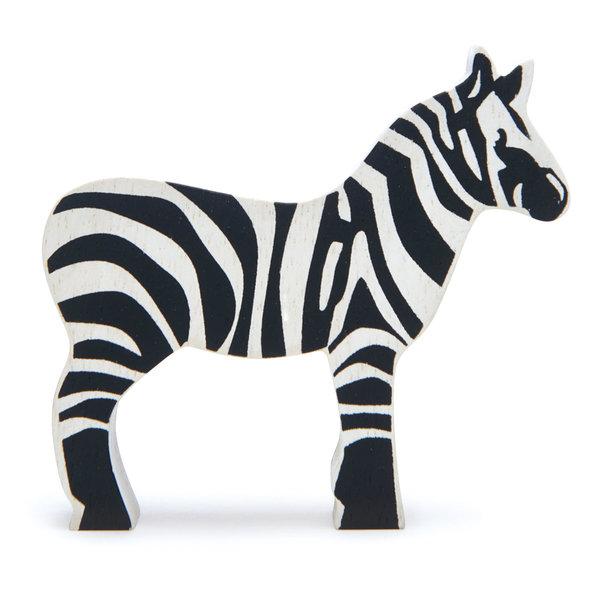 Tender Leaf - Houten dieren - Zebra