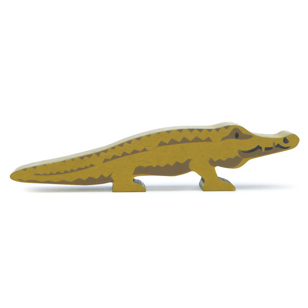 Tender Leaf - Houten dieren - Krokodil