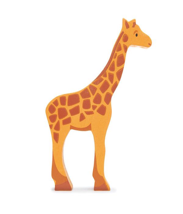 Tender leaf Toys Tender Leaf - Houten dieren - Giraffe