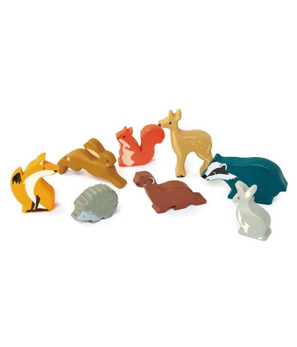 Tender leaf Toys Tender Leaf - Houten dieren - Haas