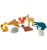 Tender leaf Toys Tender Leaf - Houten dieren - Wezel