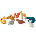 Tender leaf Toys Tender Leaf - Houten dieren - Das
