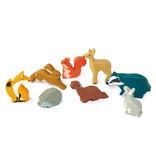 Tender leaf Toys Tender Leaf - Houten dieren - Eekhoorn