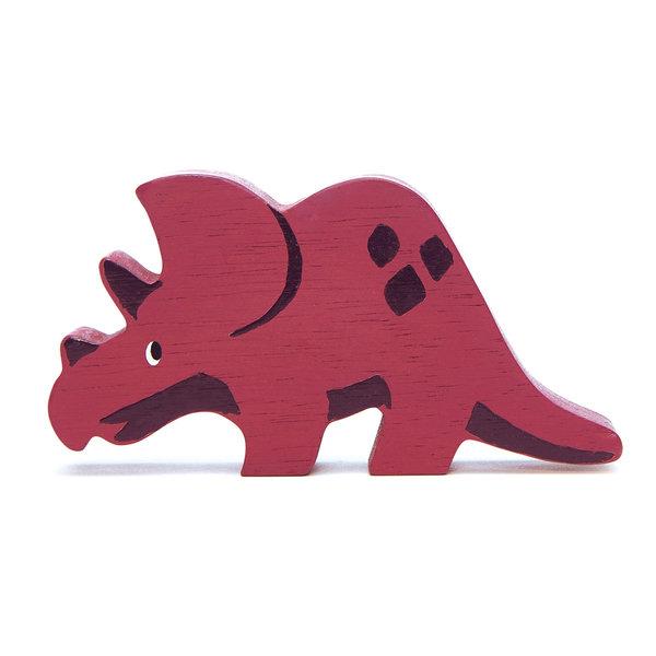 Tender Leaf - Houten dino's - Triceratops