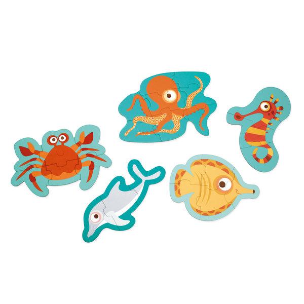 Scratch - Beginners puzzel Oceaan