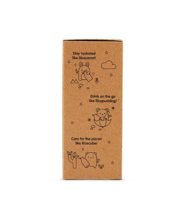 Noodoll Noodoll - Drinkfles Ricecracker Geel