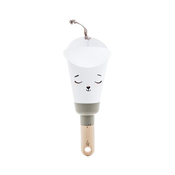 Polochon & Cie - Nomad lamp  Berensnoet Grijs