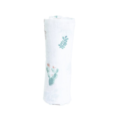 Little Unicorn Little Unicorn - Hydrofiele swaddle Prickle Pots Cactus