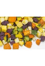 Gemüse Chips gewürfelt