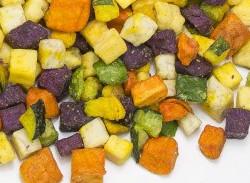 Vegetabilske Chips terninger
