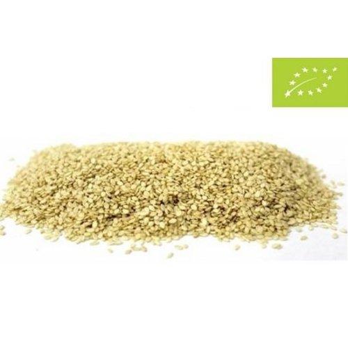 Graines de sésame non décortiquées bio