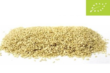 Organic Sesame seed unpeeled