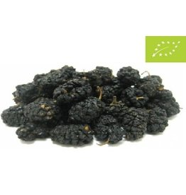 Økologiske mulberries sort
