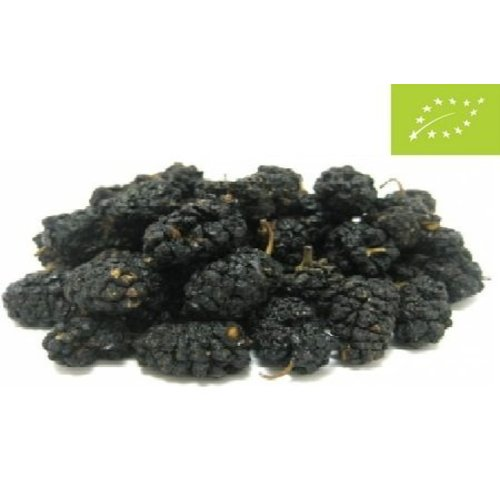 Økologiske mulberries sort